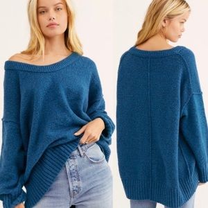 NEW Free People Brookside Sweater